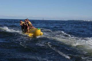 Sopot Atrakcja Banan wodny Extreme