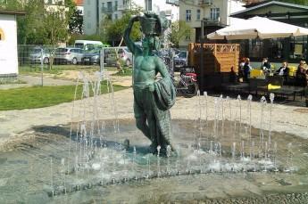 Sopot Atrakcja Warto zobaczyć Fontanna Jasia Rybaka